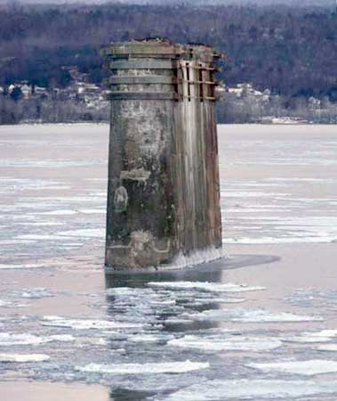 Ice is thinner and less common on Lake Champlain since the 1970s. (Photo: Brian Mann)