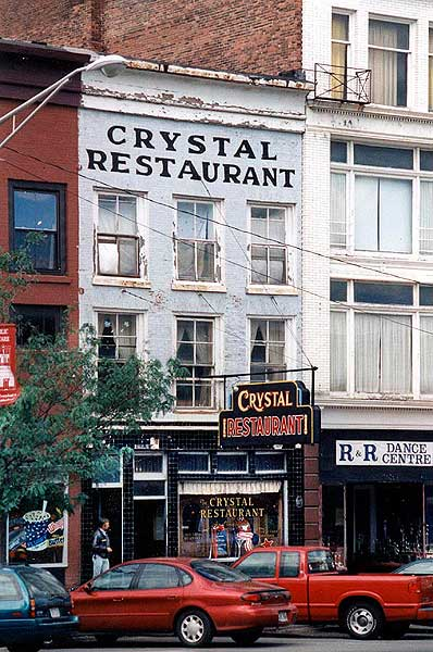 The Crystal is a familiar landmark on Watertown's Public Square