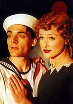 Adrian Marchuck as Dick, Alison J. Palmer as Ruby.