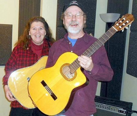 Barb Heller and Danny Gotham.  Photo: NCPR