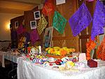 """A """"Dia de los muertos"""" altar at SLU's Herring-Cole Hall"""