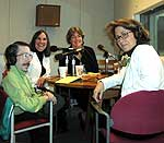 Left to right: Andrew Pulrang, Kim Massaro, Kelly Wight, and Martha Foley