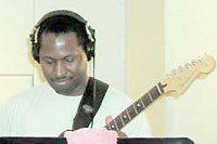 Don Washington, guitar and vocals, teaches music at Morristown Central School