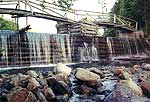 Duck Hole Dam in 2000. Photo courtesy Gary Dean.