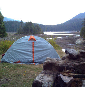 Camping at Duck Hole, one of the most remote corners of the Adirondacks. Photo: Brian Mann