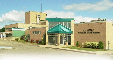 "The former E.J. Noble Hospital and Kinney Nursing Home. Last year, Canton-Potsdam Hospital purchased the assets of both. Photo via <a href=""http://www.fdrhpo.org/health-care-services/ej-noble/"">Fort Drum Regional Health Planning Organization</a>"