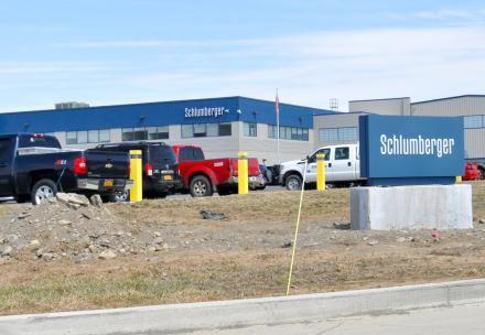 Schlumberger gasfield services facility in Horseheads, just outside of Elmira, NY. Photo: Matt Richmond