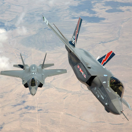 F-35A fighters such as these may be in use by the Vermont Air National Guard by 2015