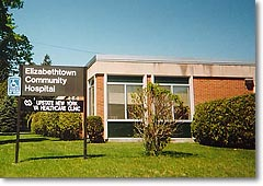 Elizabethtown Community Hospital VA Clinic (SOURCE:  VA)