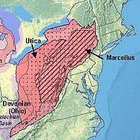 The Marcellus Shale region