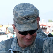 Rep.-elect Chris Gibson during deployment in Haiti. Photo: Gibson campaign