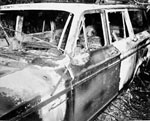 The car driven by slain civil rights activists the night they<br />died.