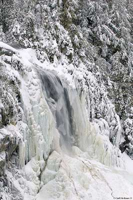 OK Slip Falls, one of the prizes of the Finch, Pruyn deal (Photo:  C. Heilman, courtesy of Adk Nature Conservancy)