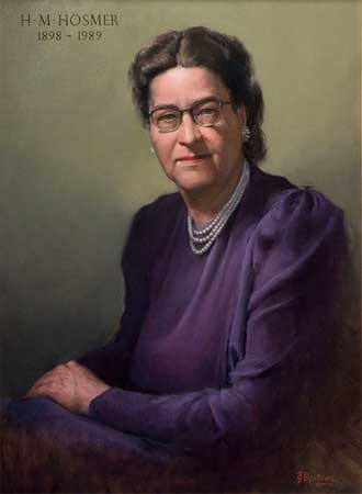 Portrait of Helen Hosmer by Juan Martinez