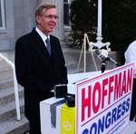 Doug Hoffman on the campaign trail.