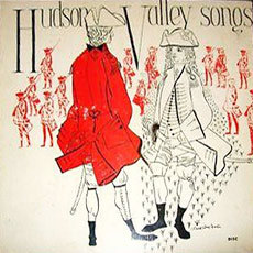 Cover of the 78 album <em>Hudson Valley Songs</em>.