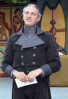 Ian Farthing in a scene from <i>Twelfth Night</i>.