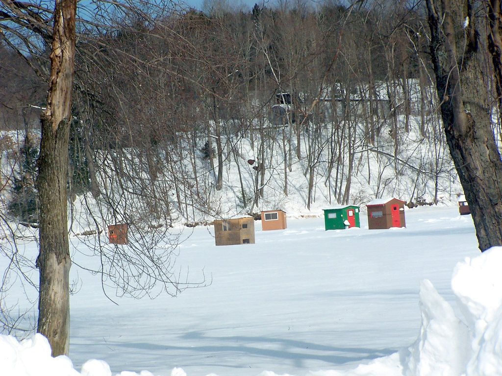 Thin Ice Hampers Free Ice Fishing Day In Vermont Ncpr News