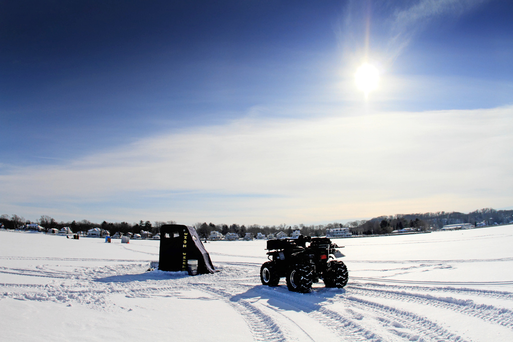 Police 6 On Atvs On Lake Champlain Rescued When Ice