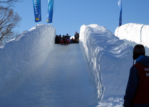 Ice slides a thrill at Winterlude | NCPR News