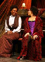 Nikki E. Walker as Esther and Rachel Leslie as Mayme. Photo: Alex Ottaviano
