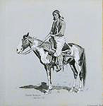 <em>A Comanche</em>, by Frederic Remington