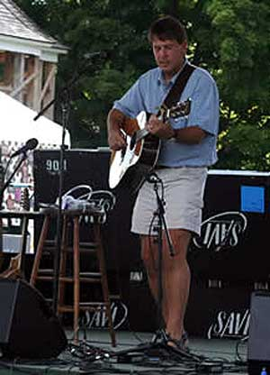 Jamie at the 2007 Adirondack Folk Festival, Schroon Lake