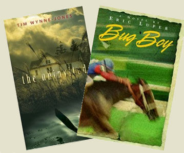 "Tim Wynne-Jones' ""The Uninvited"", and Eric Luper's ""Bug Boy""."