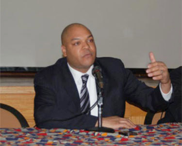 Assemblyman Karim Camara, chair of the Black, Hispanic, Puerto Rican, and Asian Caucus/ Photo: NYS Assembly