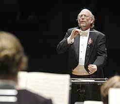 Orchestra of Northern New York Music Director and Conductor Kenneth Andrews.   Photo:  ONNY