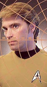 James Cawley as James T. Kirk