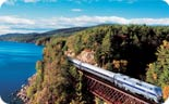 "Lake Champlain ""Adirondack"" Amtrak route (Source:  Amtrak)"