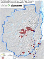 Finch Pruyn deal changes Adirondack conservation map (Source: ANC)