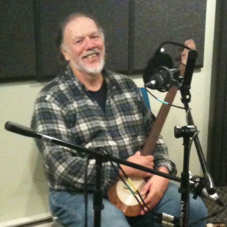 Lee Knight in the NCPR studio