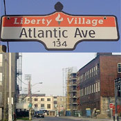 "Toronto's Liberty Village neighborhood has become a ""brain gain"" destination. Photos: Wikipedia"