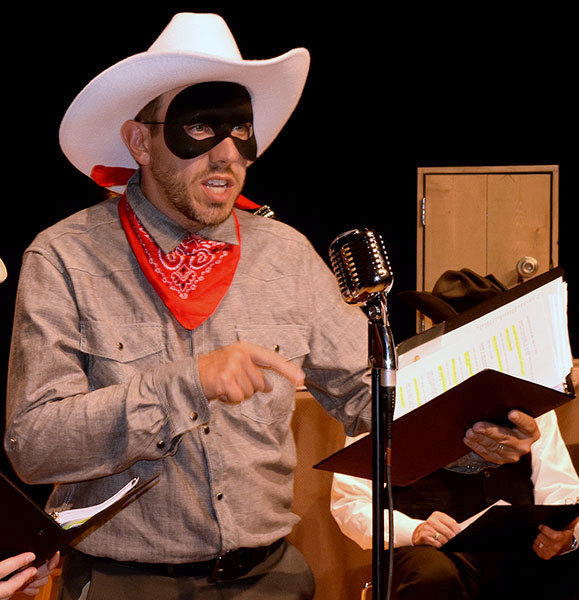 Cowboys, coconuts and old time radio on stage | NCPR News