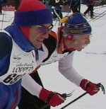21st Annual Loppet gets underway. Photo provided by ORDA.