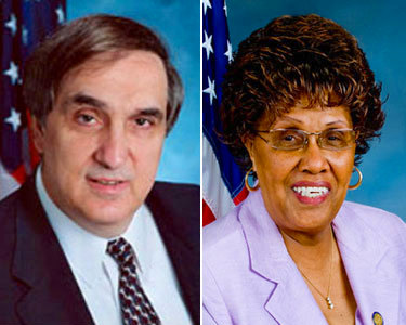 The latest Albany scandals involve NYS Assemblyman Vito Lopez (left) and NYS Senator Shirley Huntley, both Democrats.