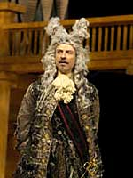 Juan Chioran as Don Adriano de Armado. Photo: Andrée Lanthier.