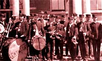 Lowville Band, early 1900s