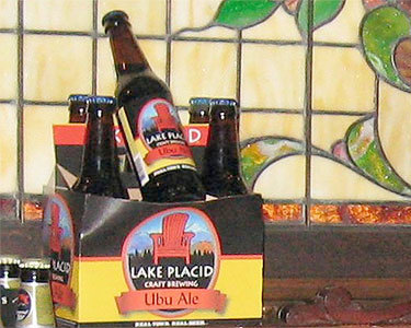 Ubu Ale: an artisan brew from Lake Placid Craft Brewing. Photo: Tricia G., Creative Commons, some rights reserved