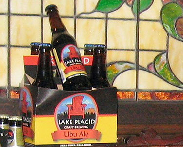 "Ubu Ale: an artisan brew from Lake Placid Craft Brewing. Photo: <a href=""http://www.flickr.com/photos/sabine01/3875859563/"">Tricia G.</a>, Creative Commons, some rights reserved"