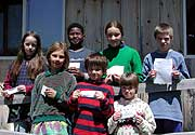 Young poets at Little River Community School, near Canton, participated in the Peace Poetry Contest.
