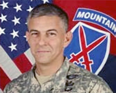 Major General Stephen Townsend has taken over as commanding general of Fort Drum and the 10th Mountain Division. Photo courtesy Fort Drum