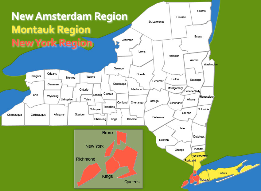 Divide New York Caucus Would Cut Nys Into Three Parts Ncpr News