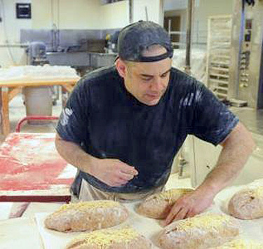 Matt Funiciello is a long-time business owner and founder of the Rock Hill Bakehouse in Glens Falls.  Photo:  Funiciello Campaign