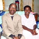 The Reverend Maurice and Thandi Munthali. Maurice is pastor of Saint Andrews CCAP Church in Malawi, Livingstonia Synod. (photo: Presbyterian Church USA)
