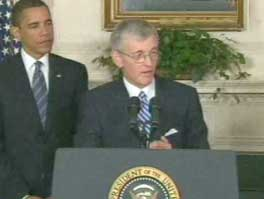 Rep. McHugh with President Obama on Tuesday at the White House