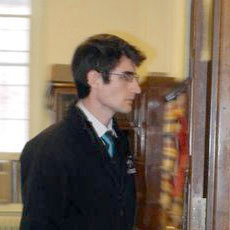 "Michael Heymann leaves the Saranac Lake village courtroom Thursday after his arraignment. Photo: Chris Knight, courtesy <a href=""http://www.adirondackdailyenterprise.com""><em>Adirondack Daily Enterprise</em></a>"