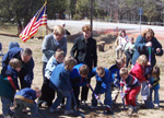 Breaking Ground<br />(Source:  Amy Freiman)